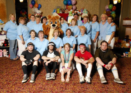 Hidden Hearts Bunco Club Group Picture